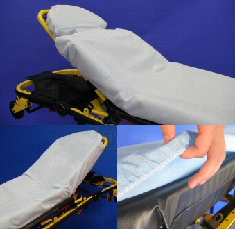 TaylorSureFit™Heavy Duty Fitted Stretcher Sheets