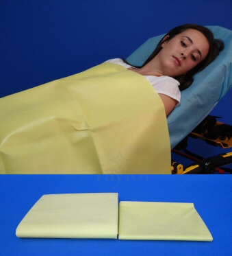 Yellow Emergency Blankets